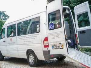 Centro de idosos Transporte de Pessoas